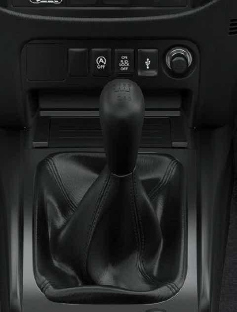 Mitsubishi L200 med manuelt gear