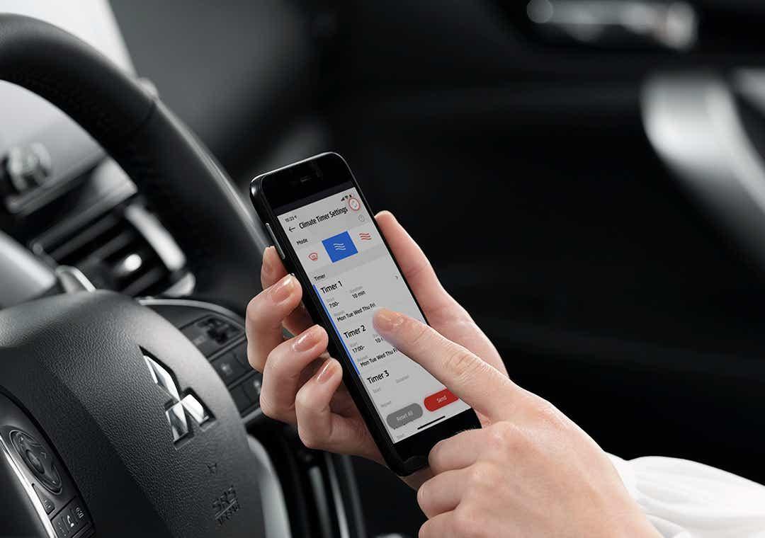 Mitsubishi app til din PHEV