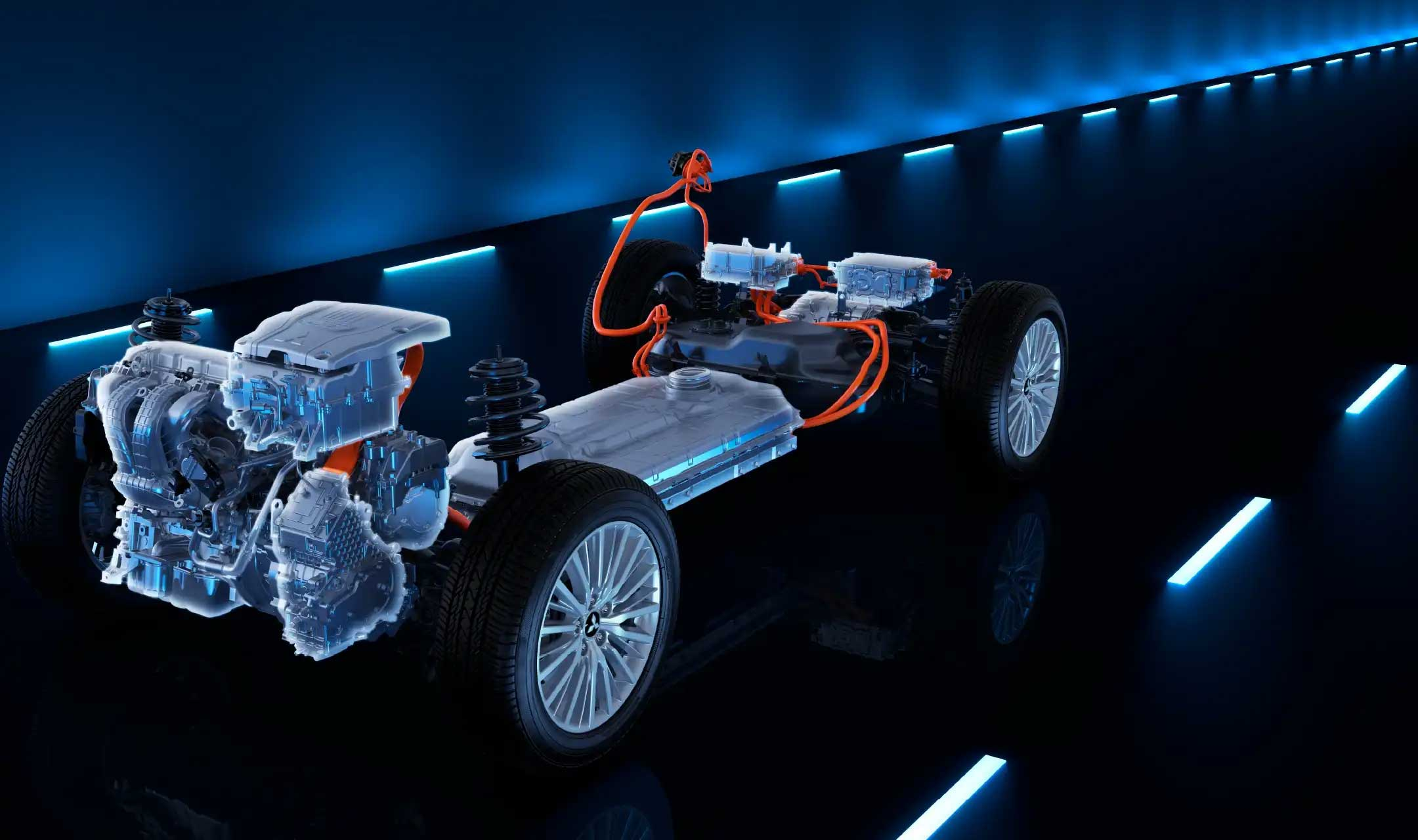 Outlander PHEV hybrid teknologi