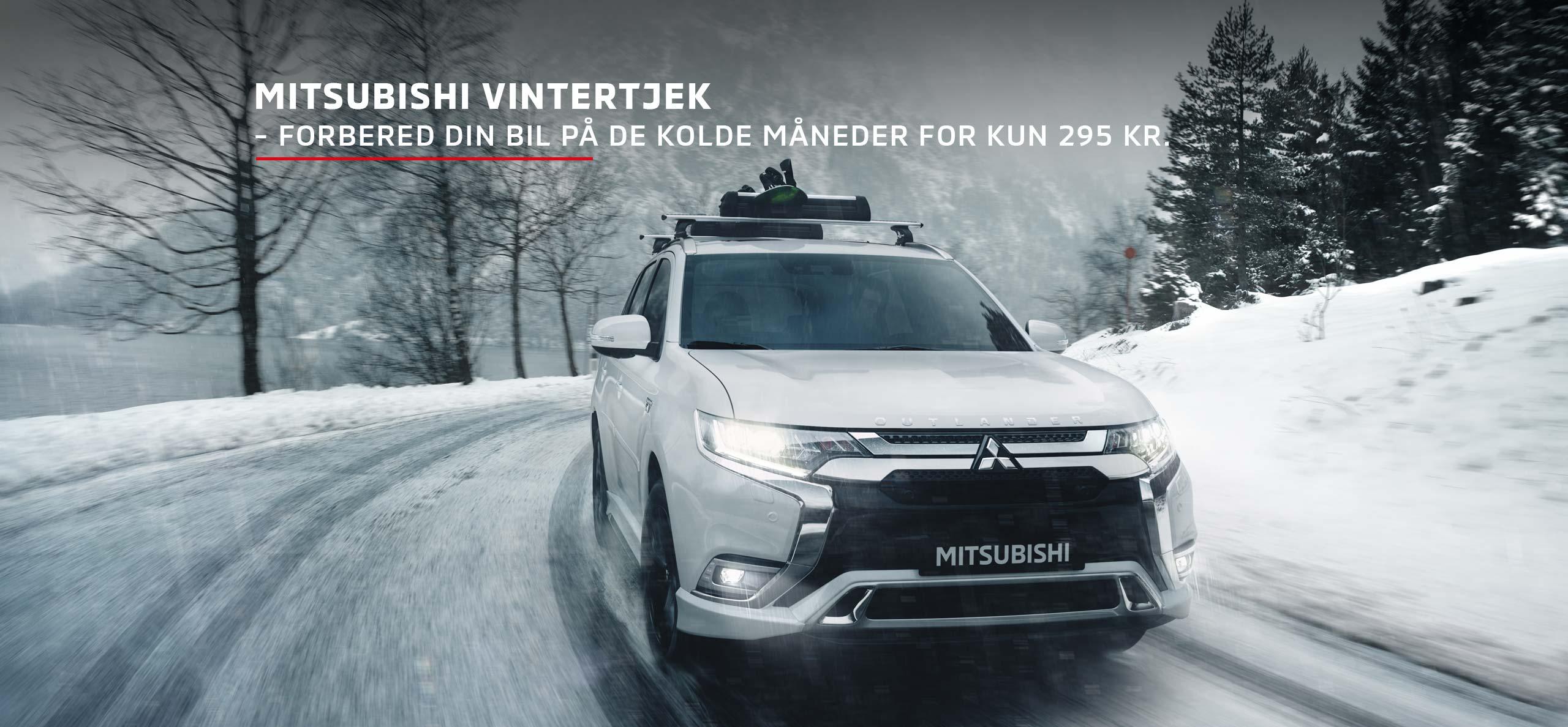 Giv din Mitsubishi et vintertjek