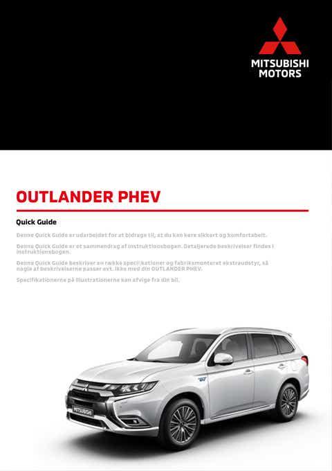 Outlander PHEV tilbehørskatalog